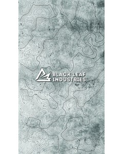 Black Leaf Topo Backgrounds - Cement