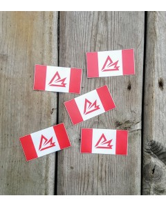 Black Leaf Industries Flag Sticker