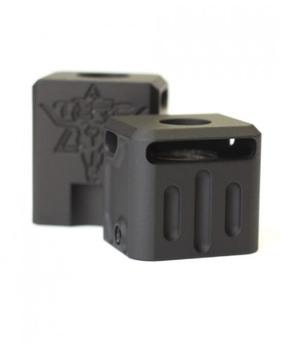 Texas Black Rifle Company V3 Aluminum 9mm Stubby Comp
