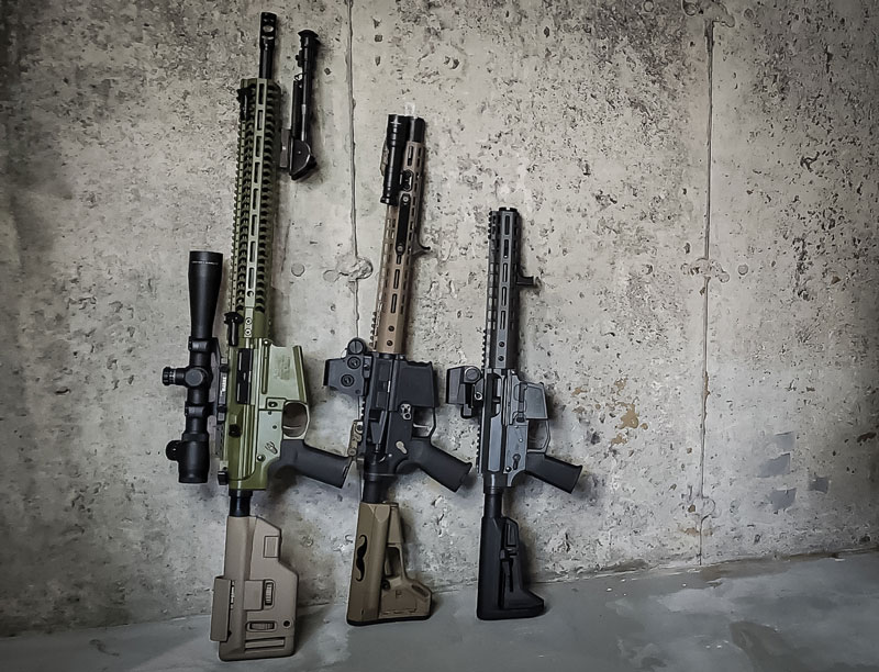 Canada's own Black Leaf Industries - Black Leaf Rifle Family lineup BL9|BL10|BL15