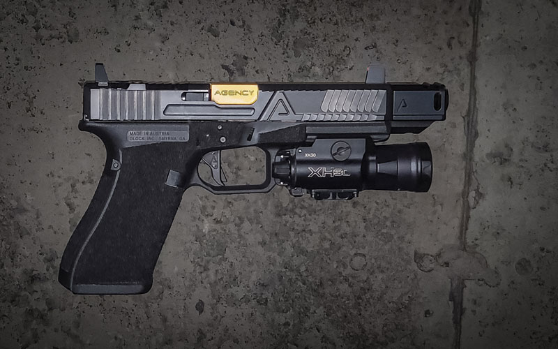 Custom Agency Arms Glock by Black Leaf Industries - Canada's source for Agency Arms